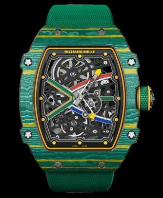 RM 67―02Sprint(短距離競走)は自動的に鎖腕時計に行きます